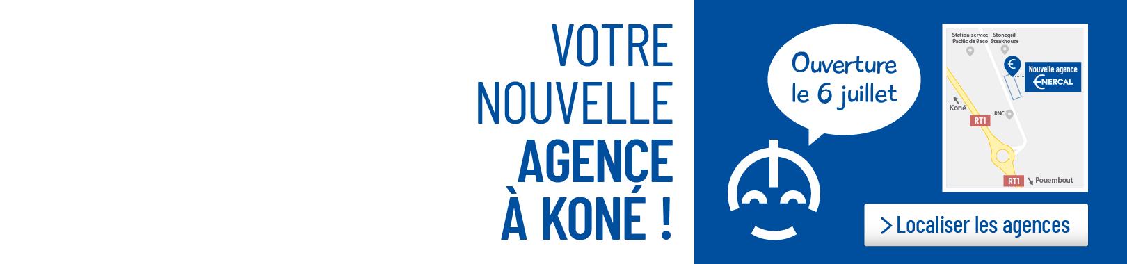 Nouvelle agence à Koné